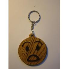 """Брелок для ключів - Смайлик """"Ух-ти-ха"""""""