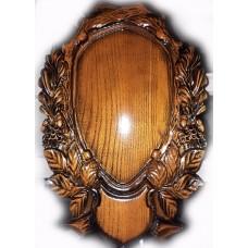 Дошка-медальон для тророфею, подарунок мисливцю Т003