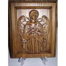 "Ікона різьблена - ""Ангел Хранитель"" (200*150 мм)"