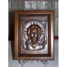 Ікона різьблена - «Спас Нерукотворний» (200 * 150 мм)