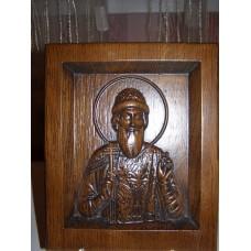 Ікона різьблена - «Святий Рівноапостольний Володимир» (200 * 150 мм)
