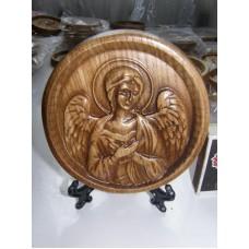 Ікона кругла на підставці - Ангел Хранитель