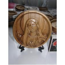 Ікона кругла на підставці - Мадонна