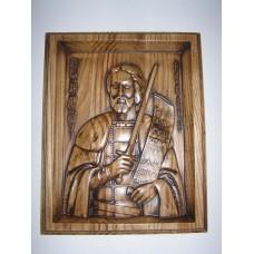 Ікона з дерева - Олександр Невський