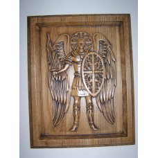 Ікона з дерева - Архангел Михаїл