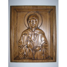 Ікона з дерева - Свята праведна блаженна Матрона