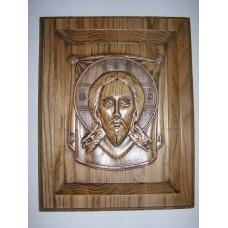 Ікона з дерева - Спас Нерукотворний
