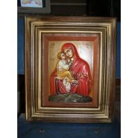 Ікона «Божа Матір «Почаївська» - ручний розпис.