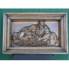 Картина дерев'яна - Сім'я Ісуса