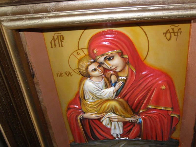 Роспись иконы 35